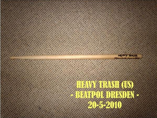 Heavy Trash - Beatpool, Dresden (DRUM STICK, GERMANY)