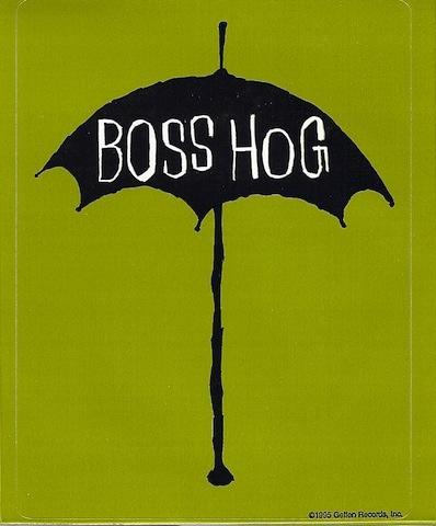 Boss Hog (STICKER, US)