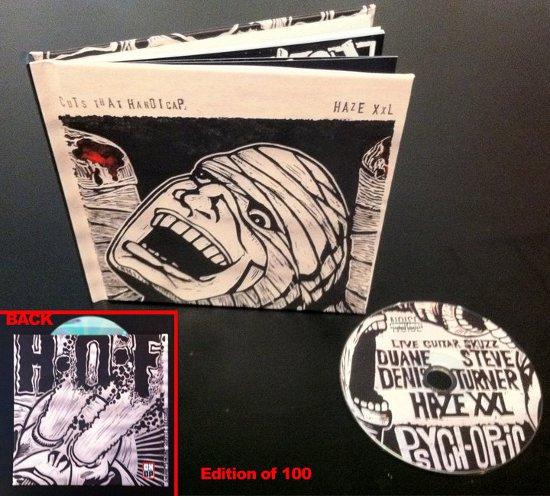 V/A feat. Jon Spencer Haze XXL: Cuts That Handicap (CD/BOOK, US)