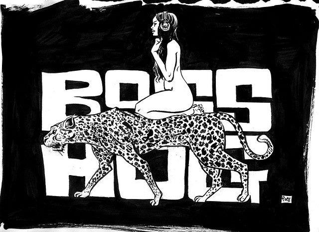 Boss Hog - Paul Pope: Cheetah Design (ARTWORK, US)