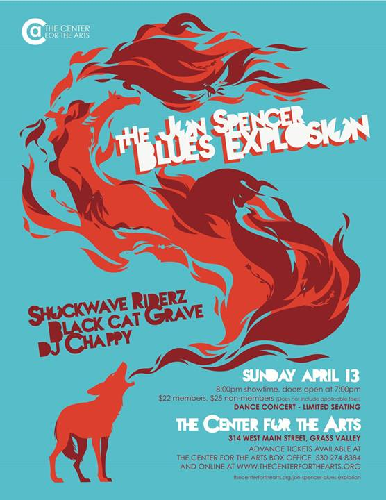 The Jon Spencer Blues Explosion - The Center For The Arts Grass Valley, CA, US (13 April 2014)