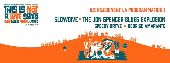 The Jon Spencer Blues Explosion - This Is Not a Love Song, Nimes, France (29 - 31 May 2014)