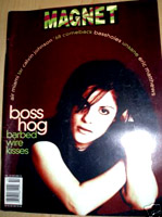 Boss Hog - Magnet: Cover / Feature (PRESS, US)