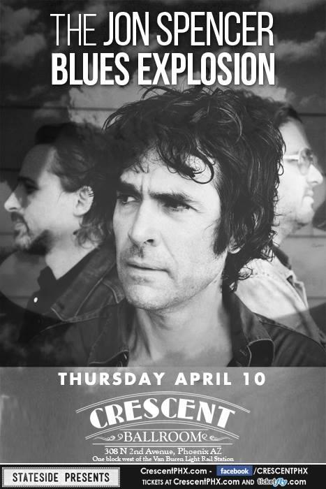 The Jon Spencer Blues Explosion - The Crescent Ballroom, Phoenix, AZ, US (10 April 2014)