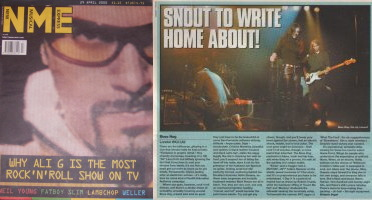 Boss Hog - NME: Snout to Write Home About! [LA 2 Review] (PRESS, UK)