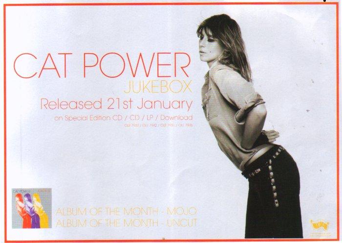 Cat Power - Jukebox (ADVERTISEMENT, UK)