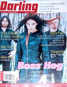 Boss Hog - Darling: Cover / Feature (PRESS, EUROPE)