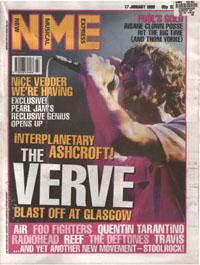 Twenty Miles - NME: London Highbury Garage (PRESS, UK)- cover