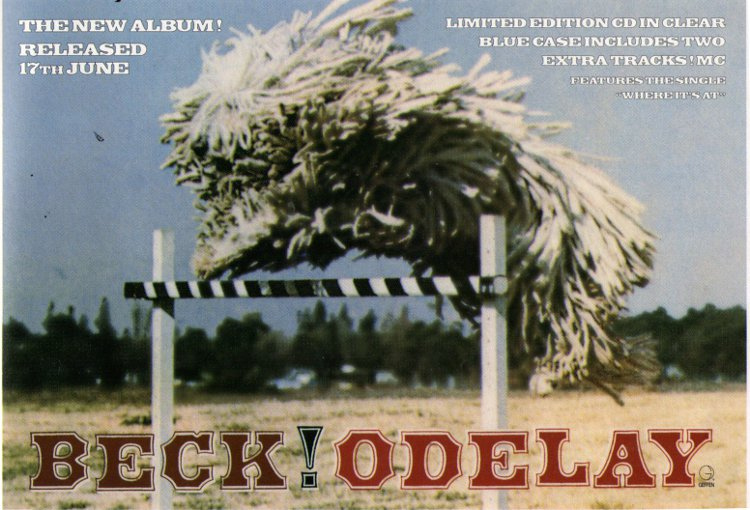 Beck / Fred Schneider - Select: Odelay [Review / Advert] (PRESS, UK)