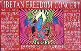 The Jon Spencer Blues Explosion - Tibetan Freedom Concert, Randall's Island, New York, NY, US (7 June 1997)