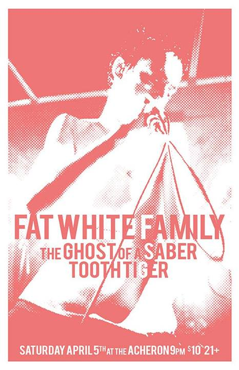 Fat White Family - The Acheron, Brooklyn, New York, US (5 April 2014)