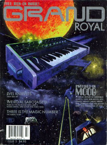 Russell Simins - Grand Royal: Issue Three [Russell Simins article] (PRESS, US)