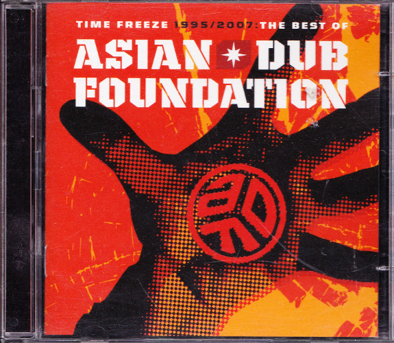 Asian Dub Foundation - Time Freeze 1995 - 2007: The Best of (2xCD, UK)