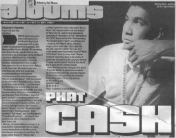 Money Mark - Melody Maker: Phat Cash / Push The Button [Review] (PRESS, UK)