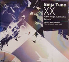 V/A feat. Coldcut - Ninja Tune XX Publishing & Licensing Sampler: The Best Music For Synxx From The XX Years of Ninja Tune (CD, UK)