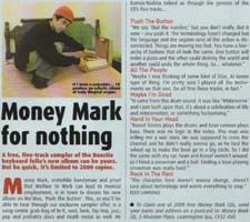 Money Mark - Vox: Push The Button [Review] (PRESS, UK)