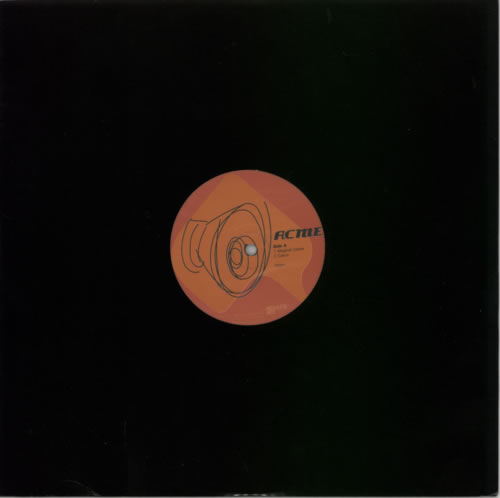 "The Jon Spencer Blues Explosion - Acme Promo (12"", UK) - Label - Side A"