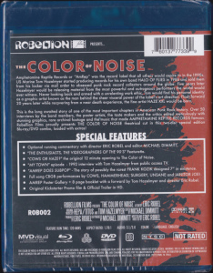 V/A feat. Boss Hog - Color of Noise (BLU RAY/DVD, US) - Rear
