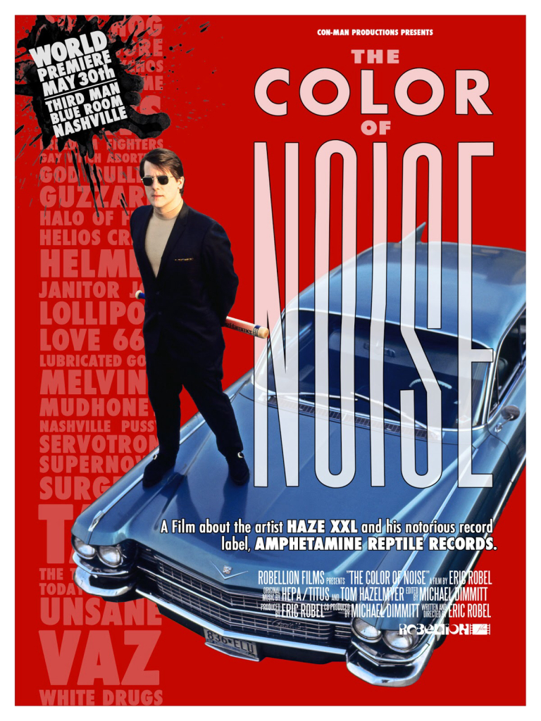 V/A feat. Boss Hog - Color of Noise (POSTER, US)