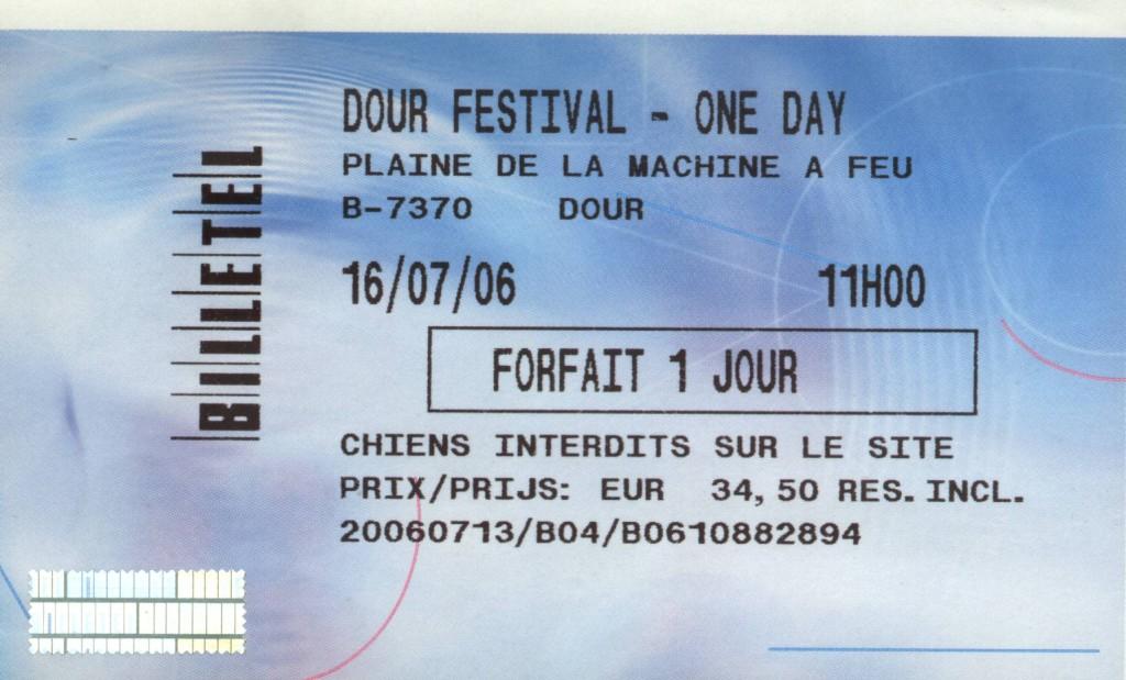 Heavy Trash - Dour Festival, Dour, Belgium (16 July 2006)