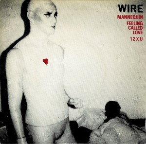 "Wire - Mannequin (7"", UK) - Cover"