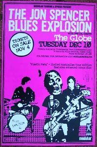 The Jon Spencer Blues Explosion - The Globe, Perth, Australia (10 December 2002)