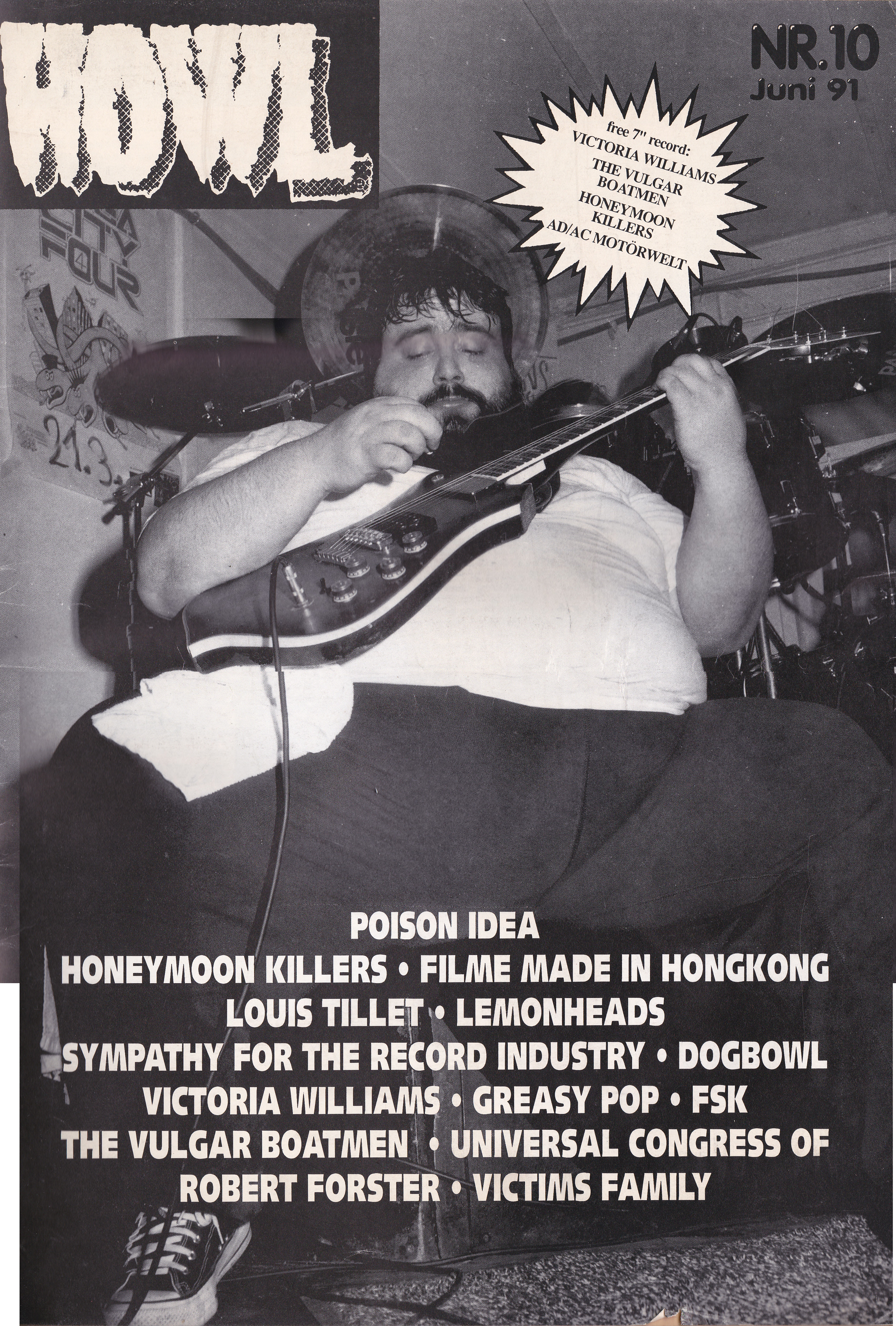Honeymoon Killers - Howl!: Feature (PRESS, GERMANY) - Cover