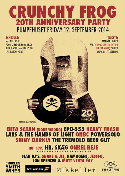 Heavy Trash / Jon Spencer (DJ Set) - Pumpehuset, Copenhagen, Denmark (12 September 2014)