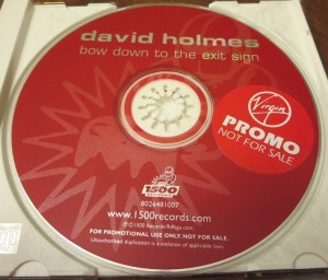 David Holmes - Bow Down To The Exit Sign [Promo] (CD, US)