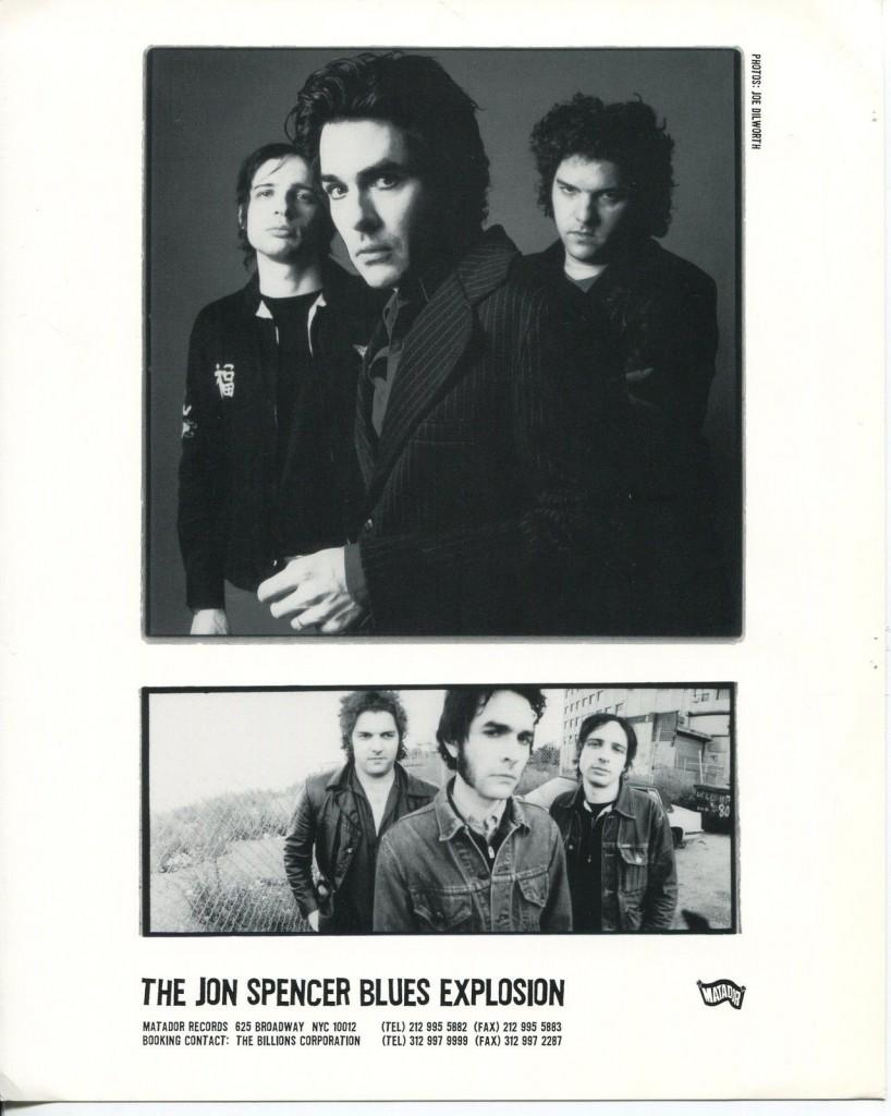 The Jon Spencer Blues Explosion - Promotional Photo [#9] (PHOTO, US)