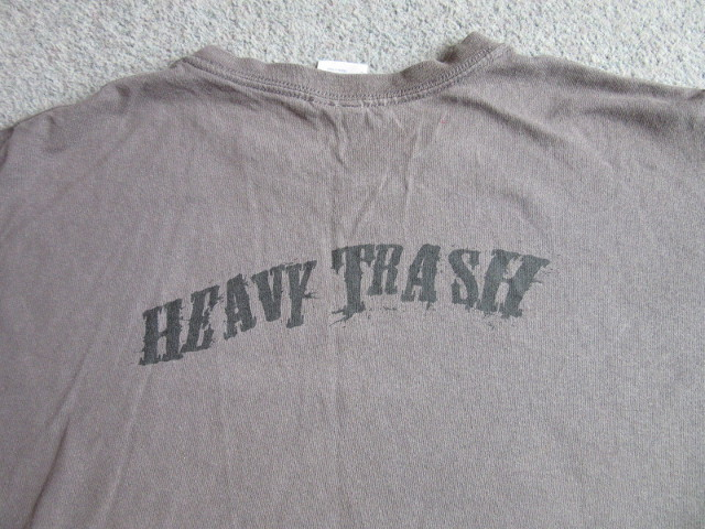Heavy Trash – Romance and Worry (SHIRT, US) - Rear