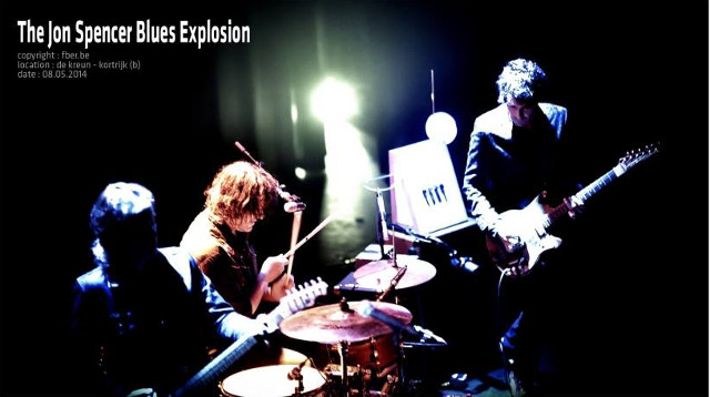 The Jon Spencer Blues Explosion - De Kreun, Kortrijk, Belgium (8 May 2014)