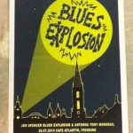 The Jon Spencer Blues Explosion – Cafe Atlantik, Freiburg, Germany (26 July 2014) - Poster
