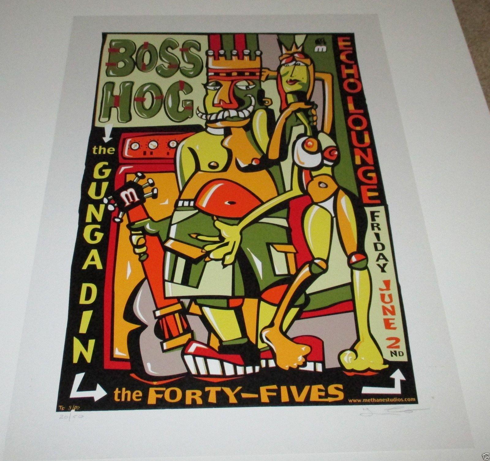 Boss Hog - Echo Lounge, Atlanta, GA, US (2 June 2000)