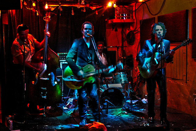 Heavy Trash – The Monkey House, Winooski, VT, US (15 October 2014)