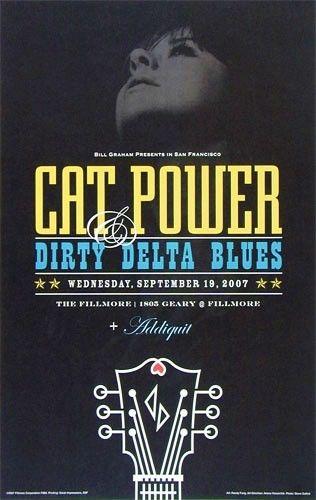 Cat Power & Dirty Delta Blues - The Fillmore, San Francisco, CA, US (19 September 2007)