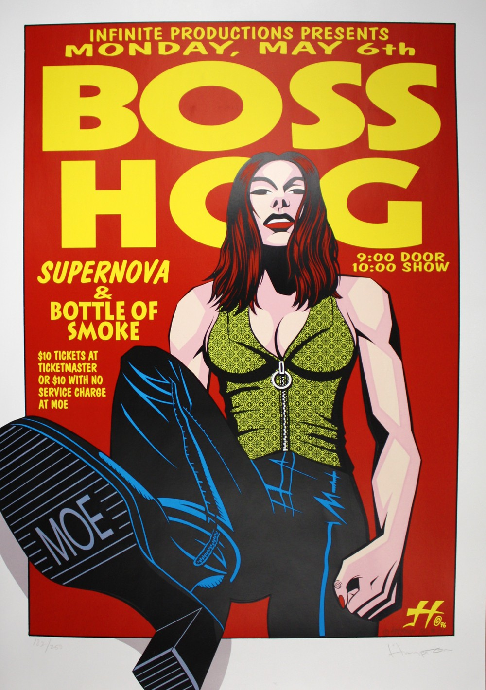 Boss Hog - Moe, Seattle, WA, US (6 May 1996) - Hampton