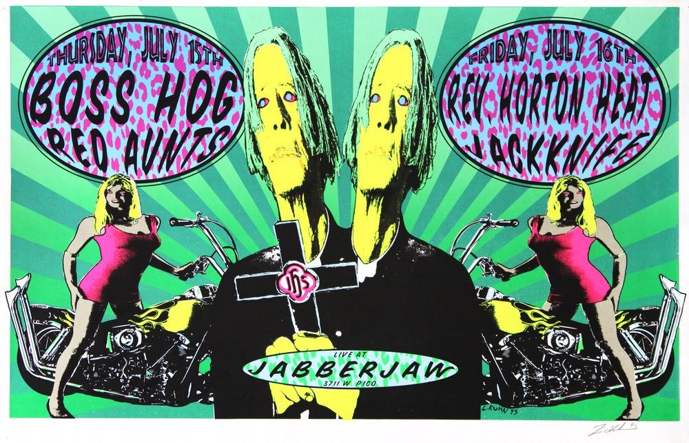 Boss Hog - Jabberjaw, Los Angeles, CA, US (15 July 1993)