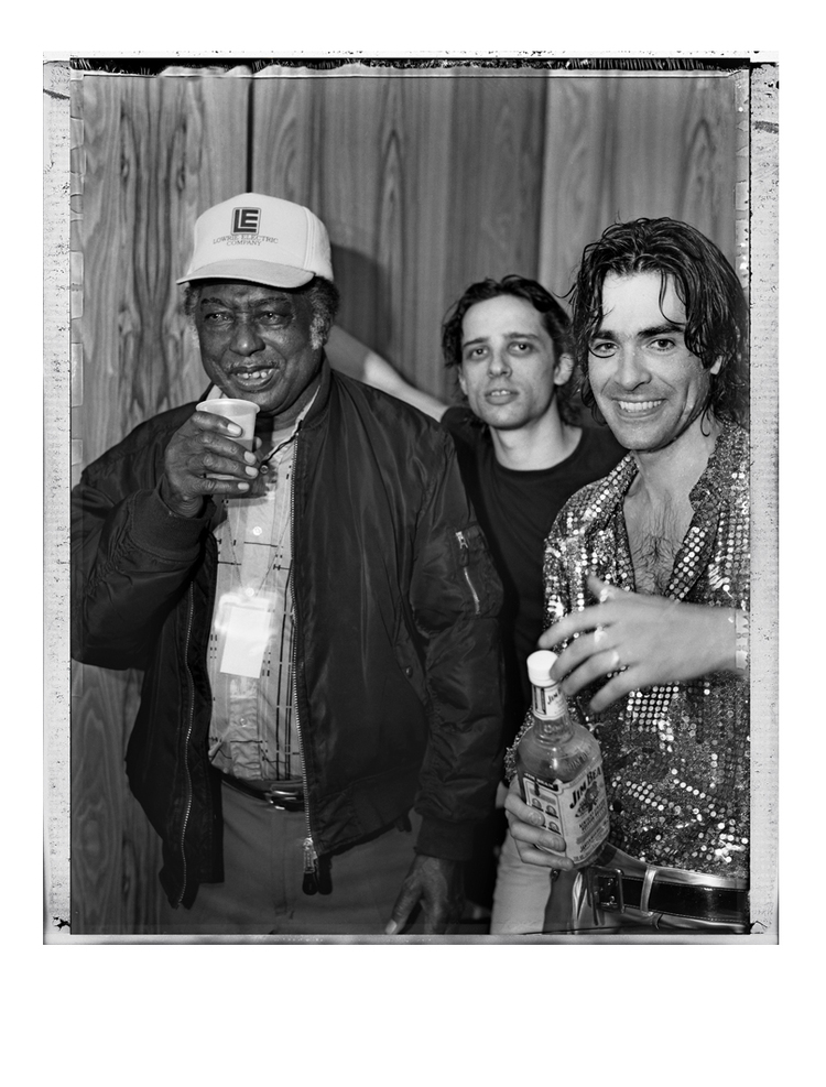 The Jon Spencer Blues Explosion - Blues Festival, Byron Bay, Australia (2 April 1999) - R.L. Burnside / Judah Bauer / Jon Spencer