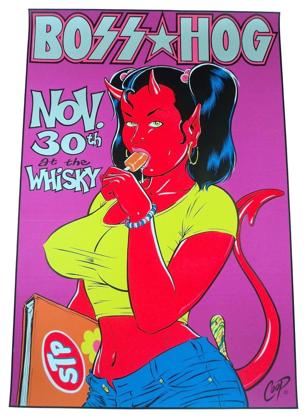 Boss Hog - The Whisky, Los Angeles, CA, US (30 November 1995)