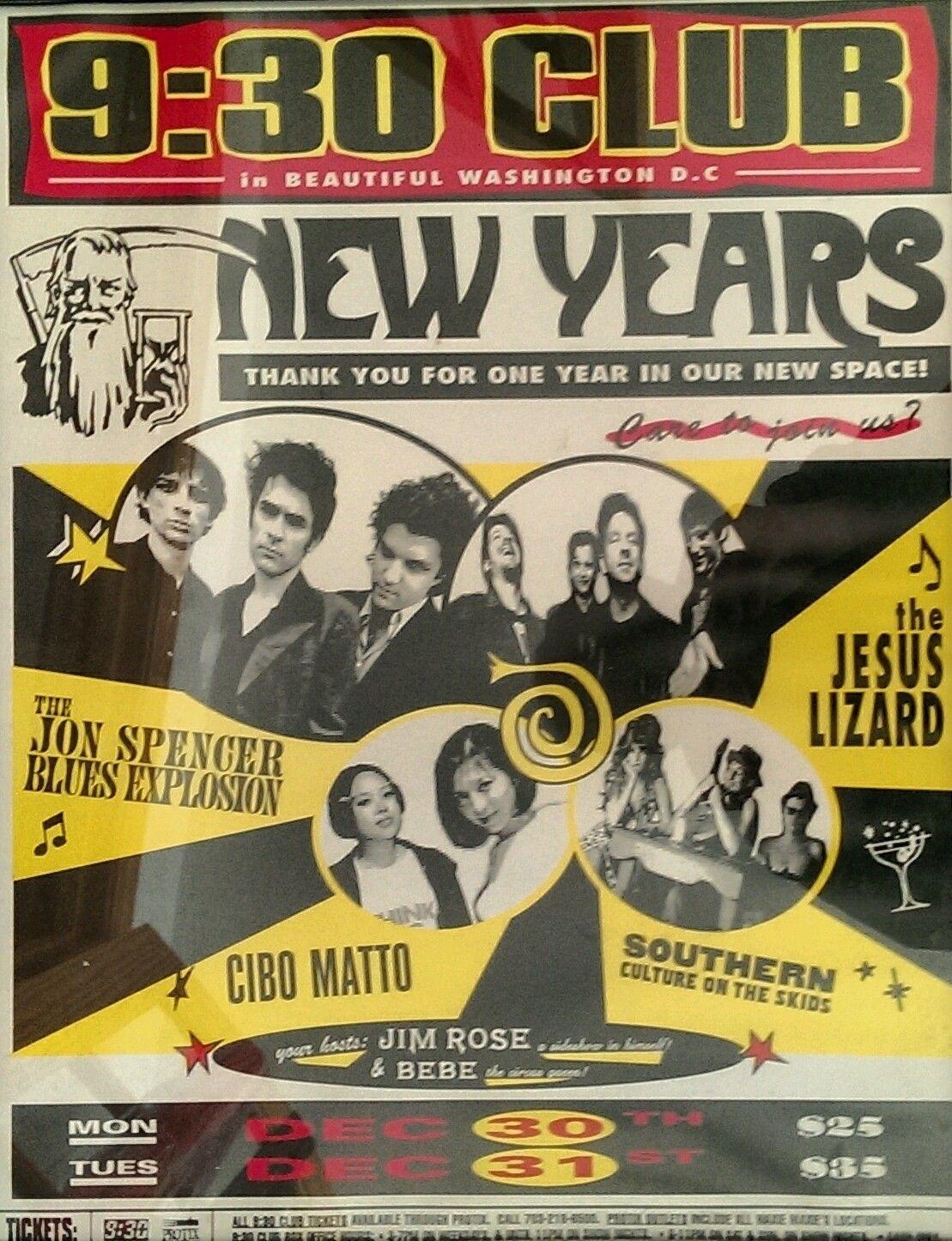 The Jon Spencer Blues Explosion - 9:30 Club, Washington, DC, US (30/31 December 1996)