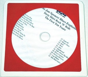 The Jon Spencer Blues Explosion - Dirty Shirt Rock 'n' Roll: The First Ten Years [Promo] [#2] (CD, US)