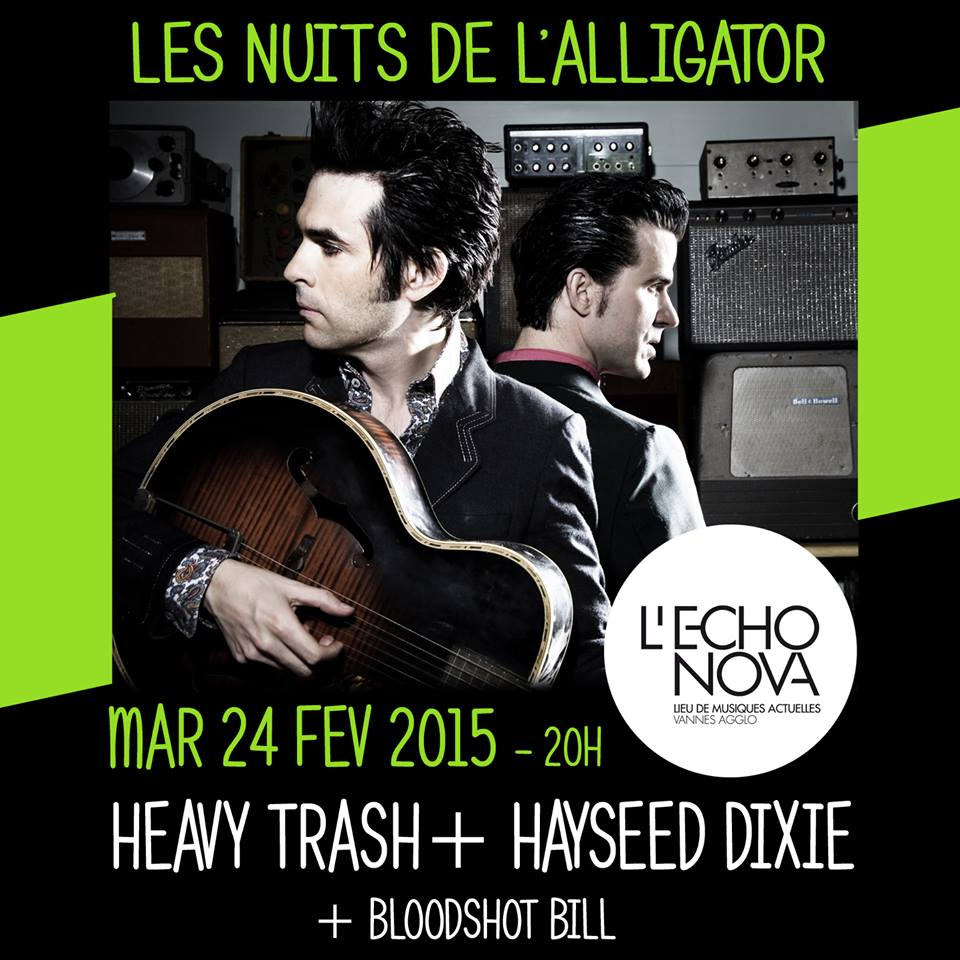 Heavy Trash – L'Echonova, St Ave, France (24 February 2015)