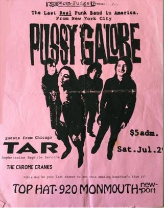 Pussy Galore - Top Hat, Newport, KY, US (29 July 1989)