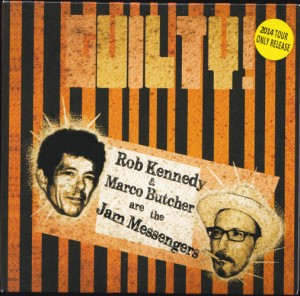 The Jam Messengers - Guilty (CD, US) - Cover