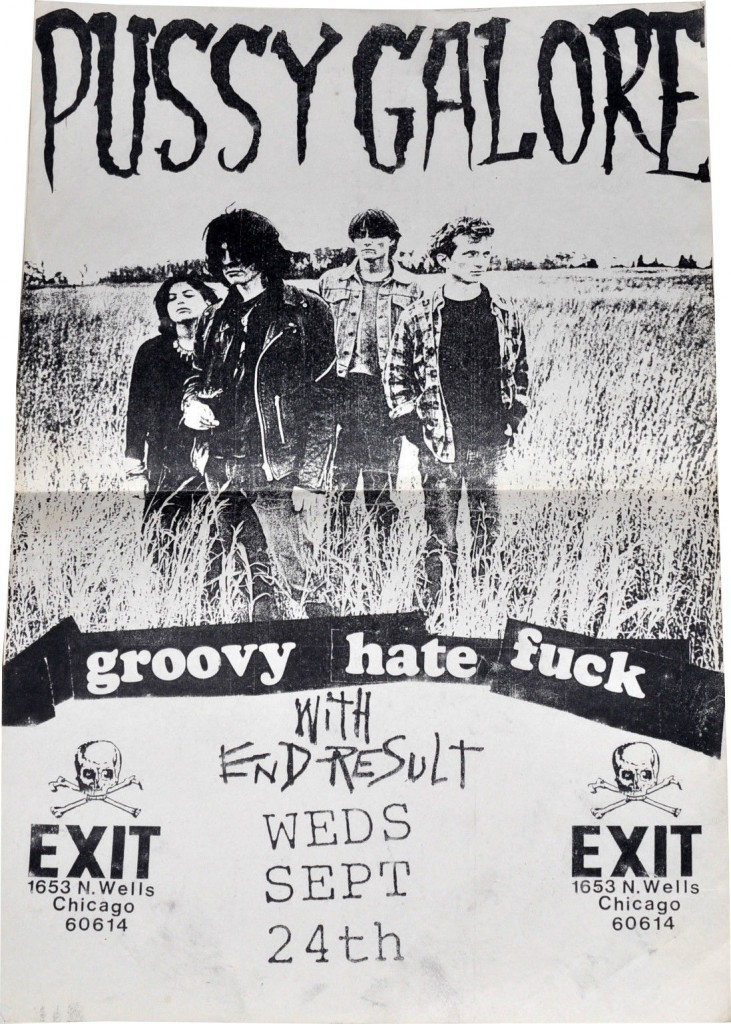 Pussy Galore - Exit, Chicago, IL, US (24 September 1986)
