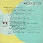 V/A feat. Khan - Intended Play: Spring 2001 (CD, US)