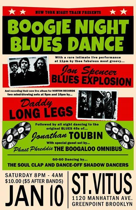 The Jon Spencer Blues Explosion - Saint Vitus, Brooklyn, New York, US (10 January 2015)