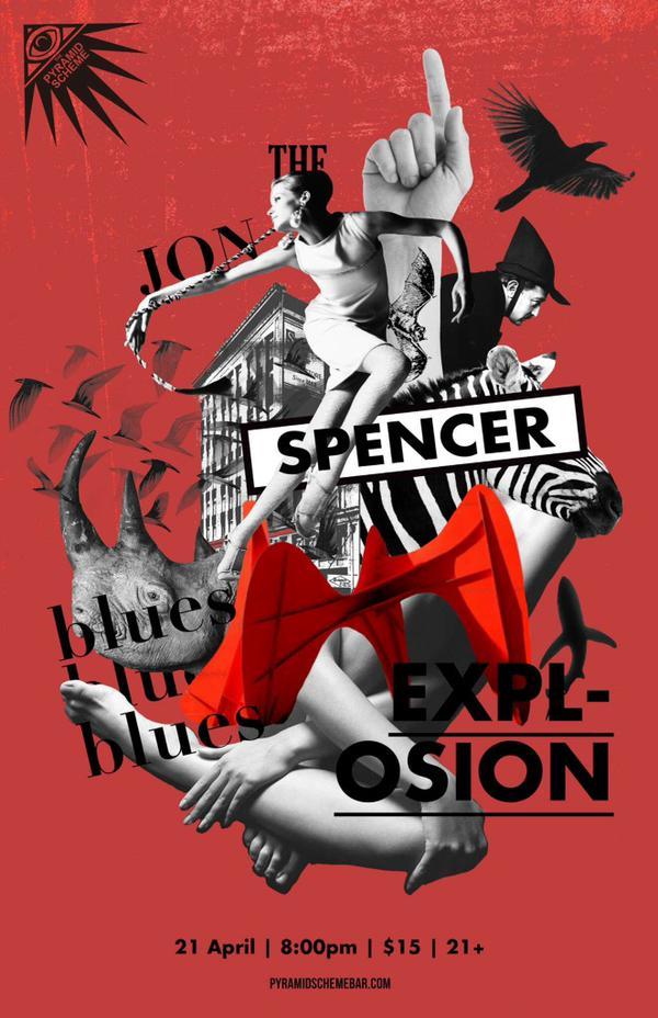 The Jon Spencer Blues Explosion – Pyramid Scheme, Grand Rapids, MI, US (21 April 2015)