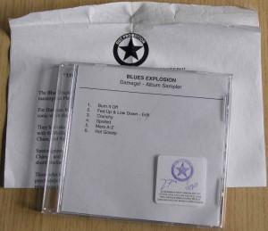 Blues Explosion - Damage! [Album Sampler] (CD, UK) - CD / Press Release